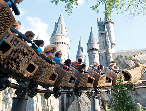 Universal Orlando Tickets- Dragon Challenge Rollercoaster At The Wizarding World of Harry Potter