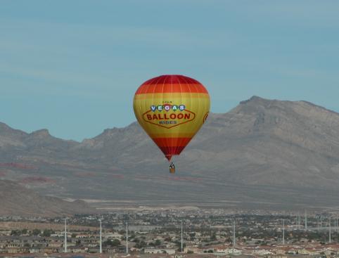 Hot Air Balloon Flight Over Las Vegas