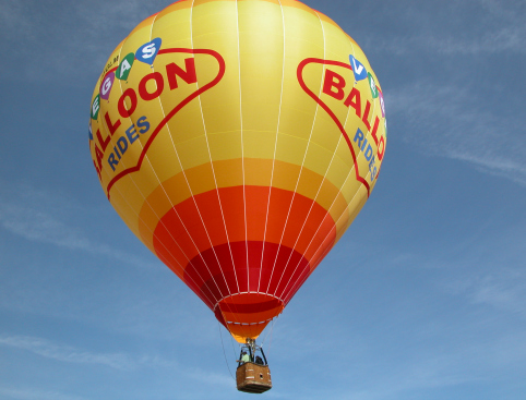 Hot Air Balloon - Las Vegas Strip