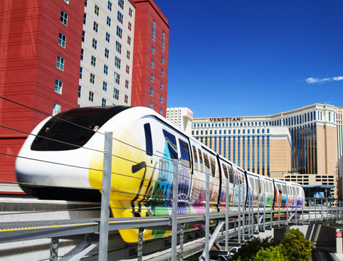 Vegas Strip Helicopter Flight Plus Free Monorail Pass