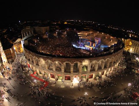 Verona Opera From Lake Garda