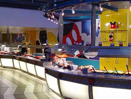 VIP Limousine & Chef Mickey Dinner- Chef Mickey's Fun Time Dinner Buffet