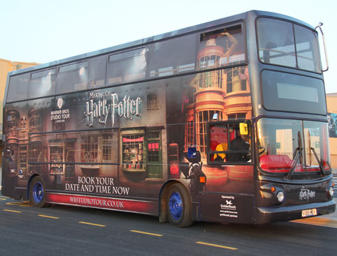 Warner Brothers Studio Tour- The Making Of Harry Potter