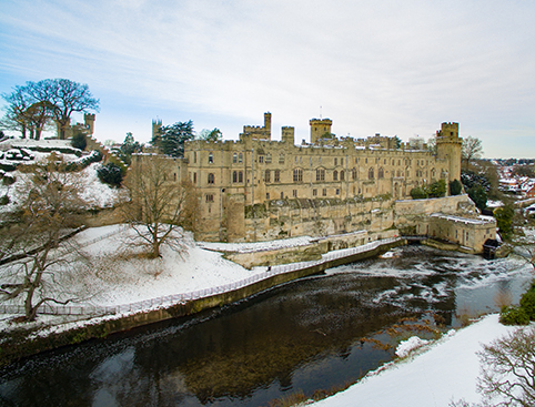 Warwick Castle- Medieval Glamping at Warwick Castle
