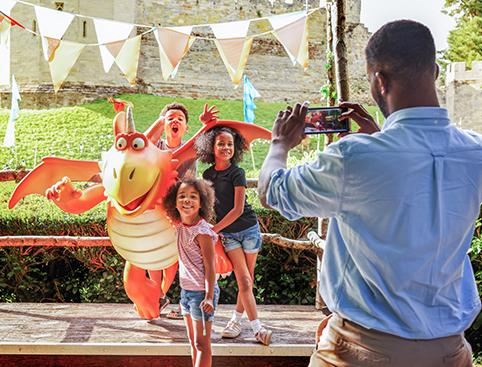 Warwick Castle- View Of Warwick Castle