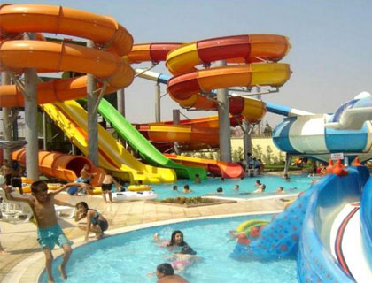 Water Planet Side Water Park- Water Slides
