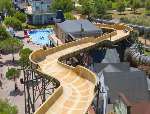 Western Park- Huracán Water Slide