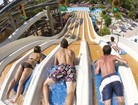 Western Park- Water Slides