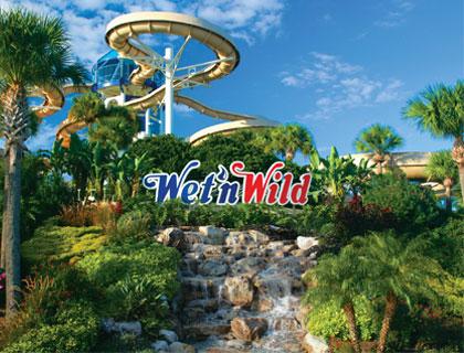 Wet 'n Wild Orlando- The Entrance To Wet 'n Wild