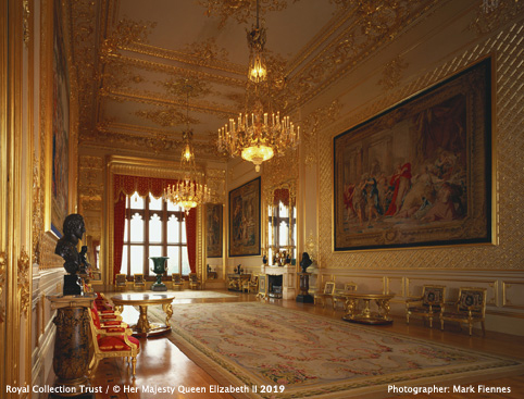 Windsor Castle- The Grand Reception Room