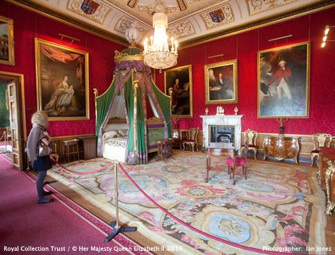 Windsor Castle- The King's Bedchamber