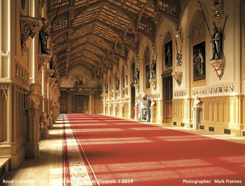 Windsor Castle- St George's Hall