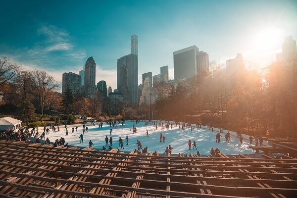 Wollman Ice Skating Rank Central Park
