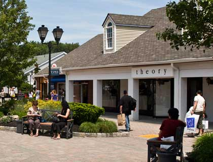 Woodbury Common Outlets Trip- Outlet Shops