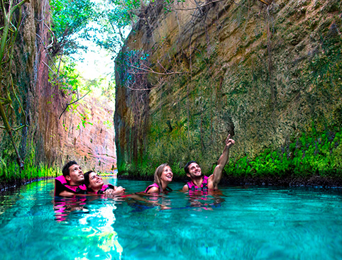 Xcaret Eco Waterpark Tour