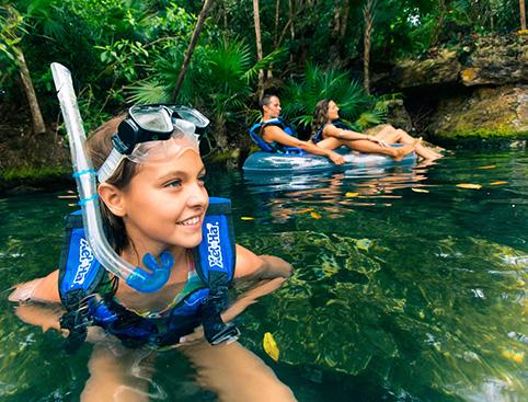 Xel Ha All Inclusive Eco-WaterPark Excursion- Snorkeling