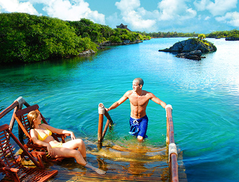 Xel Ha All Inclusive Eco-WaterPark Excursion- Bike Ride