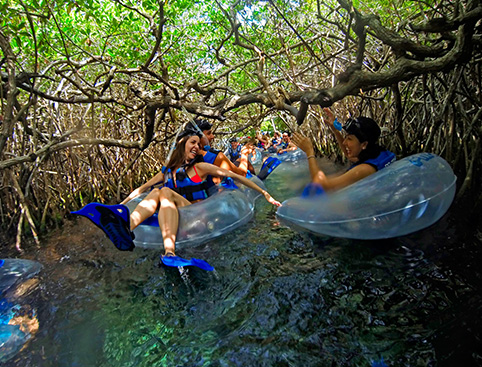 Xel Ha All Inclusive Eco-WaterPark Excursion- Xel-Há Cave