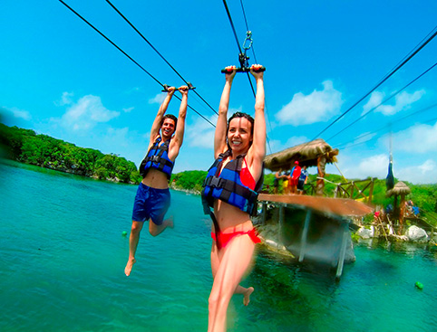 Xel Ha All Inclusive Eco-WaterPark Excursion- Xel-Há Buffet