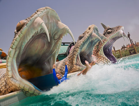 Yas Waterworld From Dubai