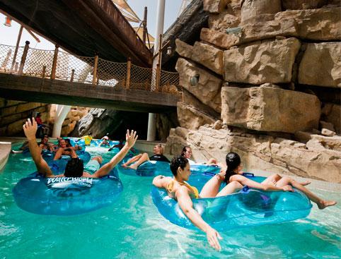 Yas Waterworld From Dubai