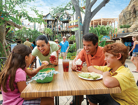Busch Gardens All Day Dining Pass