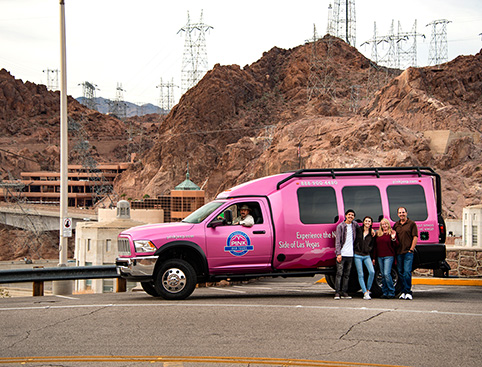 Pink Jeep Tours - Hoover Dam Discovery