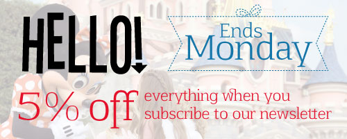 5% off everything when you subscribe