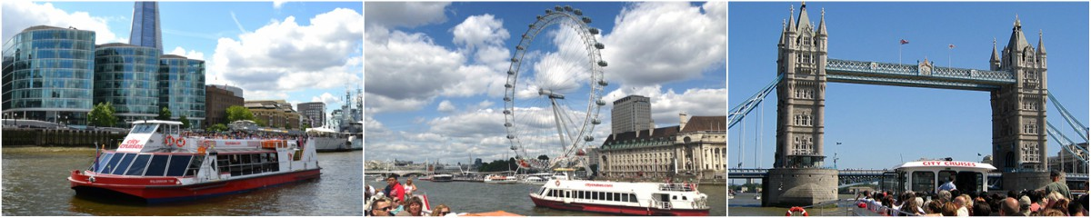 River Cruises on the Thames