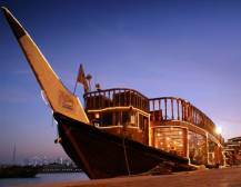 Dhow Dinner Cruise Dubai (with transport)
