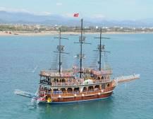 Dolphin Island Boat Trip - Side
