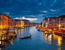 Lake Garda To Venice By Night