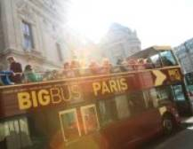 Paris Hop On Hop off Bus Tour