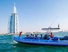 Speedboat Sightseeing Tour from Dubai Marina